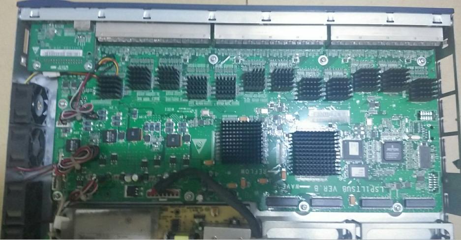 华三h3c s5500 交换机主板维修高清图片
